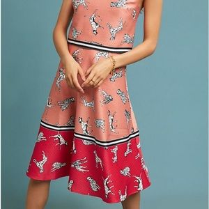 ANTHROPOLOGIE Dalmatian Skirt
